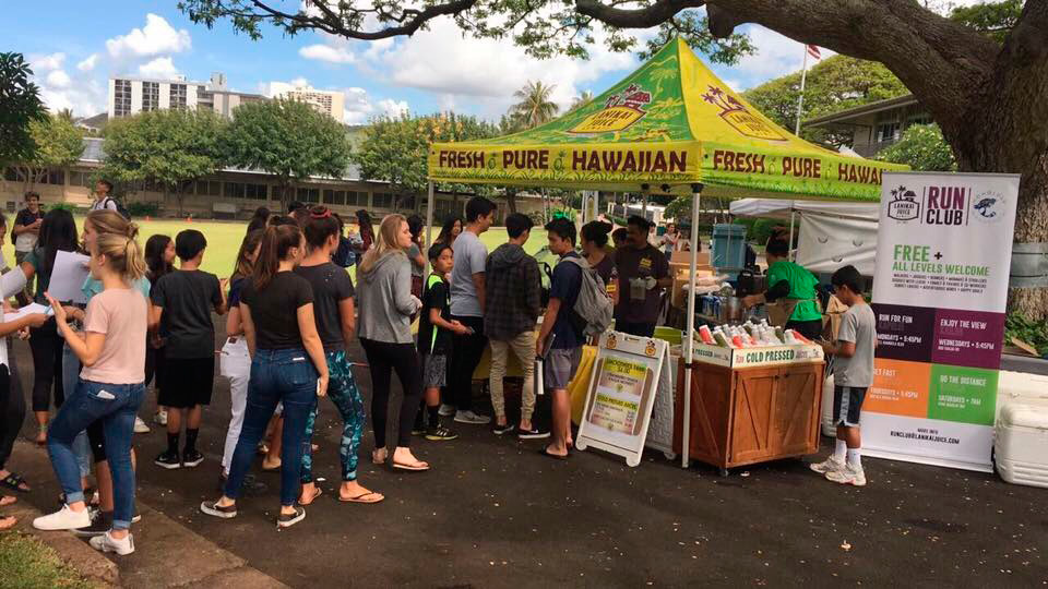 Lanikai Juice at the Punahou School Sustainability Fair