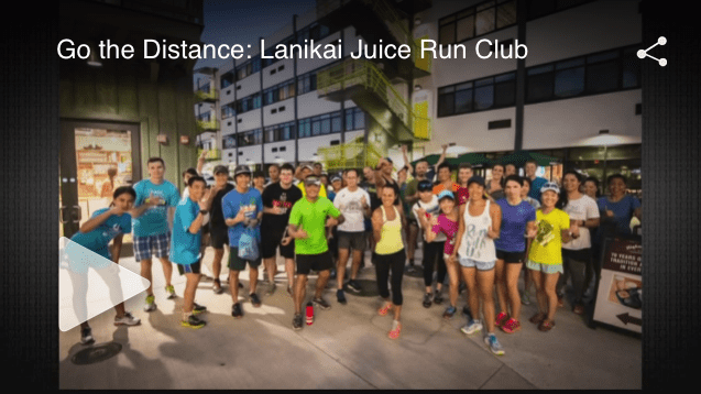 Lanikai Juice Run Club visited the Living 808 studios